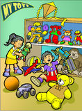 Toys vector illustration