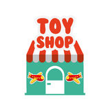 Toys kids shop design Stock Photography