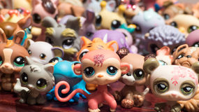 Toys. Little pet toys Stock Images