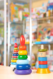 Toys in the market Stock Image