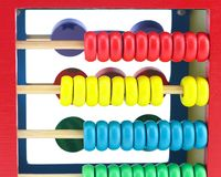 Toys mathematics ,intelligent game for kids Royalty Free Stock Photos