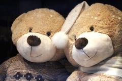 Toys. Mr. and Mrs. Teddy-Bear. Royalty Free Stock Photos