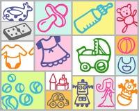Toys and nursery stock photo