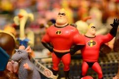 Figurins toys Arkivfoton
