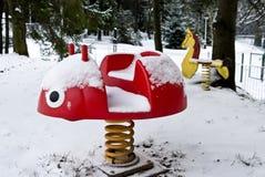Toys in the park. Spa vysne ruzbachy, slovakia Stock Photos