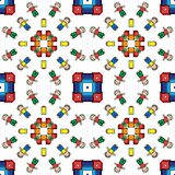 Toys pattern Royalty Free Stock Images