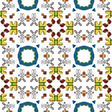 Toys pattern Stock Image