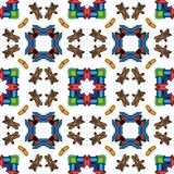 Toys pattern Royalty Free Stock Image