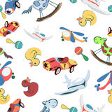 Toys pattern Stock Photos