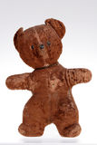 Toys, Portrait of the Old Teddy bear Royalty Free Stock Photography