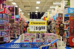 Toys R Us商店 库存图片