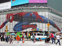 Toys R Us with Spider man Stock Photography