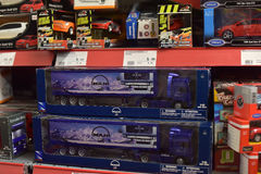Toys for sale in a store. Royalty Free Stock Images