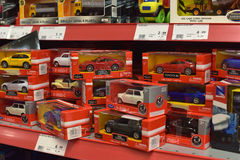 Toys for sale in a store. Stock Photography