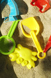 Toys for sandbox Stock Image