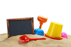 Toys for sandbox Stock Images