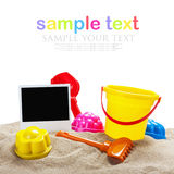Toys for sandbox isolated Stock Photography