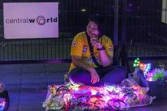 Toys seller in Bangkok Royalty Free Stock Photos