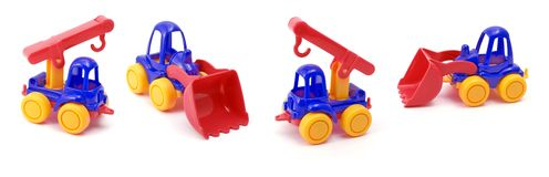 Toys set. Stock Photo
