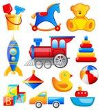 Toys set Royalty Free Stock Photos