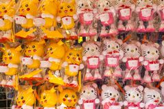 Toys shop in Bugis in Singapore Stock Images
