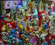 Toys showcase Stock Images