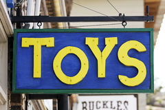 Toys Sign Royalty Free Stock Images