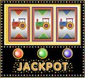 Toys slot machine vector illustration