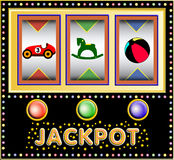 Toys Slot Machine Stock Photos