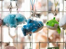 Toys and souvenirs selling at souvenir shop at the Tokyo Metropolitan Government building stock photos