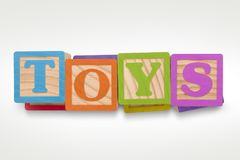 TOYS stock image