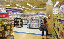 Toys store. Toys R Us store selection in Toronto, Canada Royalty Free Stock Photography