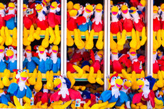Toys to win at Coney Island, Brooklyn, New York Royalty Free Stock Images