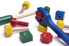 toys trä Royaltyfri Fotografi