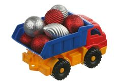 Toys in the truck Stock Image