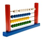Toys using for calcul Royalty Free Stock Images