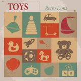 Toys Vector Flat Icons Stock Photo