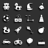 Toys Vector Flat Icons Royalty Free Stock Images