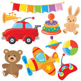Toys vector illustration Stock Image