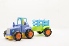 Toys vehicle. For kids, tractor Royalty Free Stock Photo