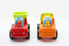Toys vehicle. For kids, tractor Royalty Free Stock Images