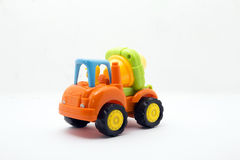 Toys vehicle. For kids, tractor Royalty Free Stock Photography