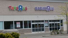 ToysRus in Norwalk, CT for lease after going out of business stock photo