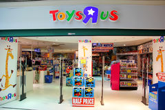 Toysrus store Royalty Free Stock Images