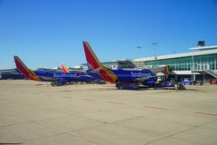 TPA airport and southwest airline Royalty Free Stock Image
