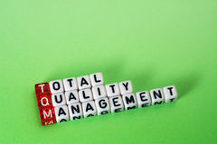 TQM Total Quality Management Royalty Free Stock Photos
