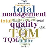 TQM. Total quality management. Stock Images