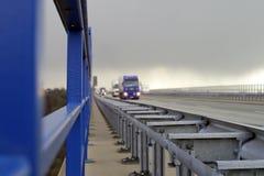 Tráfego da estrada Imagens de Stock