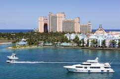 Tráfego da ilha do paraíso Imagem de Stock Royalty Free