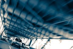 Tráfego da ponte da baía de Oakland Fotografia de Stock Royalty Free